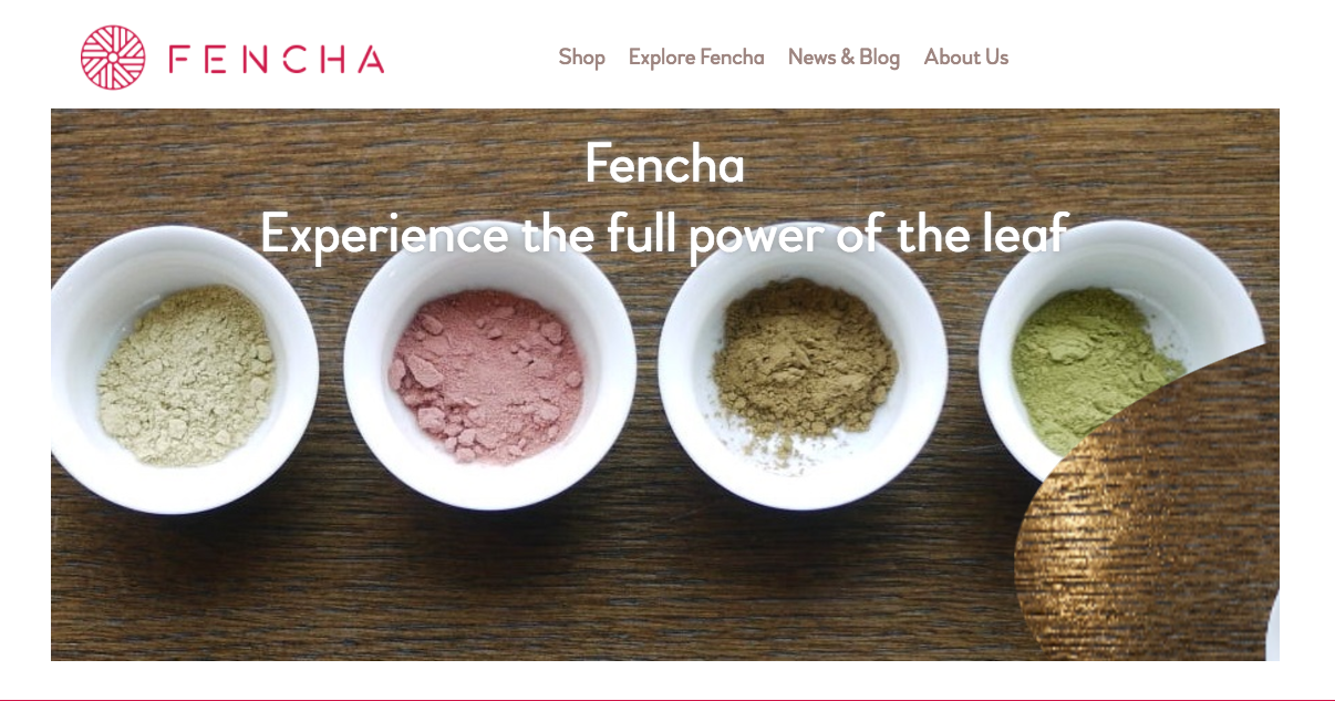 Fencha produces healthy alternatives to coffee and energy drinks