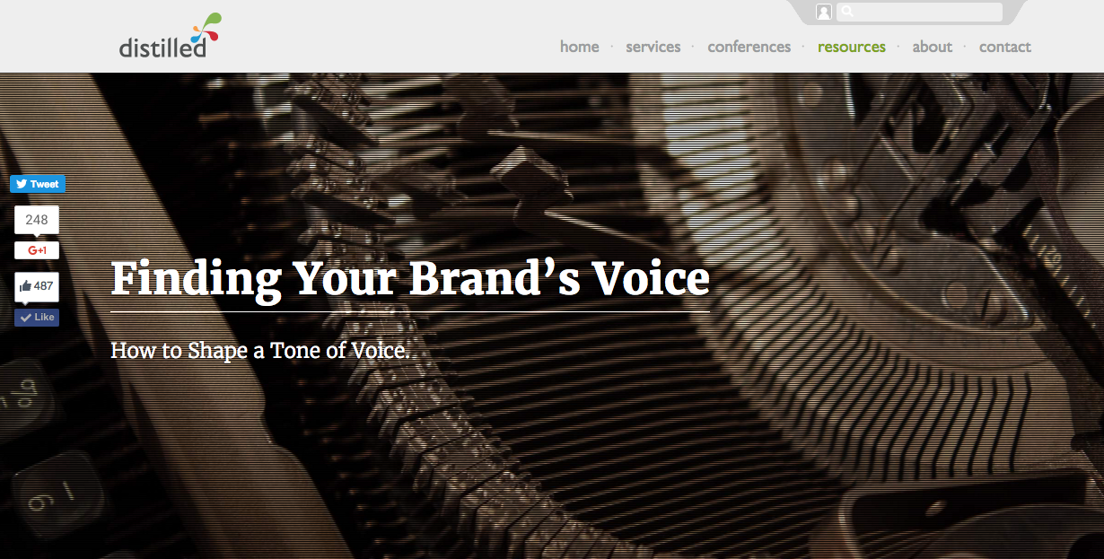 A guide to finding your tone of voice as a brand.
